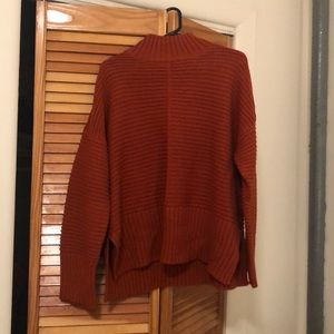 Topshop Burnt Orange chunky knit sweater